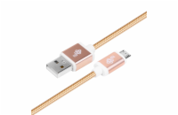 TB Touch kabel USB - micro USB, 1,5m, gold