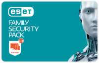ESET Family Security Pack 3 licence, 1 rok (870051) - Krabice