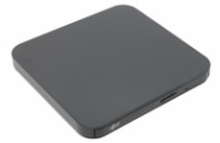 HITACHI LG - externí mechanika DVD-W/CD-RW/DVD±R/±RW/RAM/M-DISC GP95NB70, Ultra Slim, OTG konektor, Black, box+SW