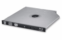 HITACHI LG - interní mechanika BD-W/CD-RW/DVD±R/±RW/RAM/M-DISC BU40N, Slim, 9.5 mm Tray, Black, bulk bez SW
