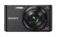 "SONY DSC-W830B 20,1 MP, 8x zoom, 2,7 "" LCD - BLACK"