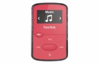 6e8411deb SanDisk MP3 Sansa Clip JAM 8 GB jasně růžový