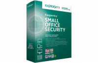 Kaspersky Small Office 6, 10-14 Mobile, 10-14 PC, 1-FileServer, 10-14 User 3 year Přechod