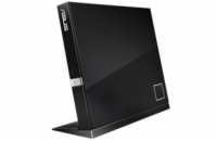 ASUS External Slim BD Writer SBW-06D2X-U BLACK, USB 3.1, Blu-ray