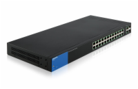 Linksys SMB switch Smart LGS326P 26-port Gigabit s POE+