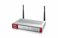 Zyxel ZyWALL USG40W UTM BUNDLE, Security UTM solution: Firewall, VPN: 10x VPN IPSec/ 15x SSL (5 default), 4x 1Gbps (3x L