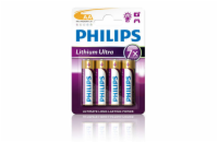 Philips baterie AA Ultra lithium - 4ks