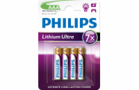 Philips baterie AAA Ultra lithium - 4ks