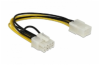 Delock Power Cable PCI Express 6 pin female > 8 pin male