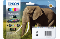 Inkoust Epson Multipack 6-colours 24XL Claria Photo HD