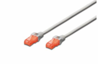 Digitus Ecoline Patch Cable, UTP, CAT 6e, AWG 26/7, šedý ...
