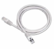 PremiumCord Patch kabel UTP RJ45-RJ45 level 5e 5m šedá