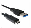 C-Tech CB-USB3C-10B USB 3.0 AM na Type-C, (AM/CM), 1m, černý kabel