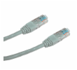 DATACOM Patch cord UTP CAT5E 3m šedý