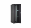 DIGITUS 47U server cabinet, 2192x800x1000 mm, color black RAL 9005 perforated door