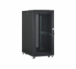 DIGITUS 26U server cabinet, 1260x600x1000 mm, color black RAL 9005 perforated door